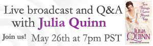 Live Broadcast with Julia Quinn