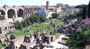 Excavated Roman Forum