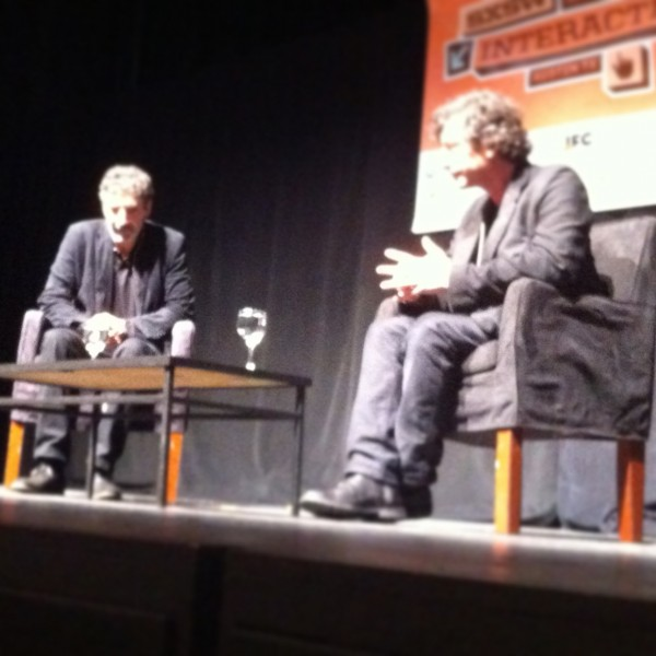 Neil Gaiman and Chuck Lorre Conversation at SXSW 2013