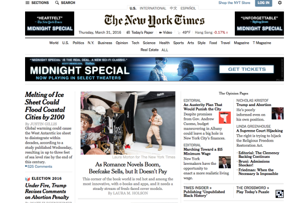 NYTimes front page with Jason
