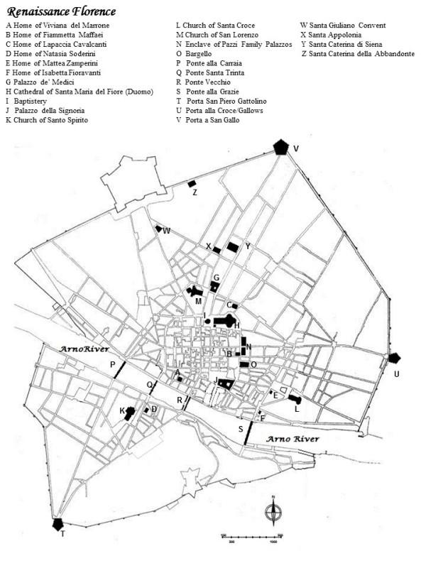 Renaissance Florence map