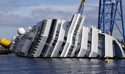Costa Cruise Crash