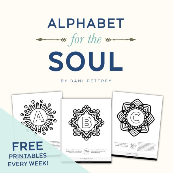 Alphabet for the soul