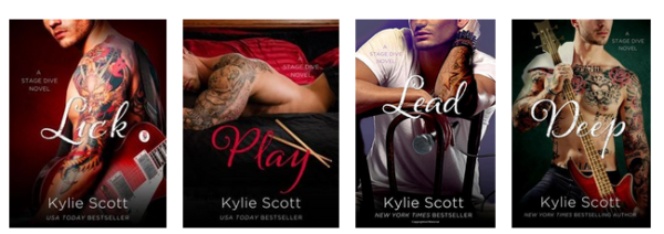 Stage Dive series by Kylie Scott