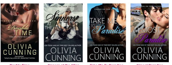 Sinners on Tour series by Olivia Cunning