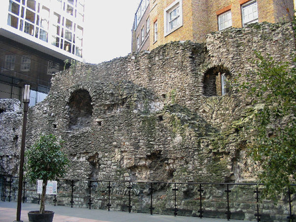 old Roman Wall in London